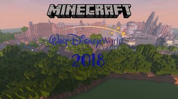 Walt Disney World 2018 Minecraft Map & Project