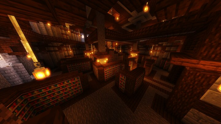 Brand new library with lots of hidden secrets