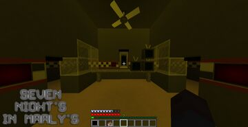 Seven Nights In Marly's 1 teasers Minecraft Map & Project