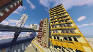 Tokyo-Style city v0.1.3 Minecraft Map & Project