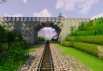 Karlovy Vary - Stara Role (part 4 of project railway KVJG 2020) Minecraft Map & Project