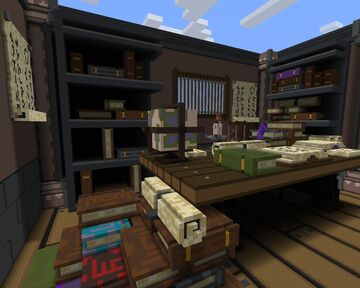 Librarian Room - Minecraft Map Minecraft Map & Project