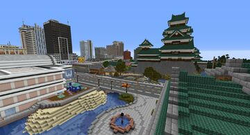 Tokyo Inspired City 1 Minecraft Map & Project