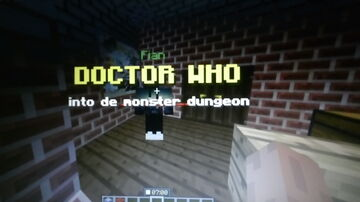 DOCTOR WHO: into the monster dungeons Minecraft Map & Project
