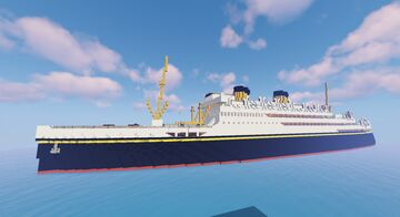 MV Britannic Minecraft Map & Project