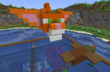 Flying Katfish Cradle Minecraft Map & Project
