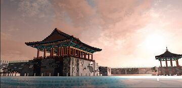 [oriental][慶州 東宮or 月池][The Moon Lake of the East Palace] Minecraft Map & Project