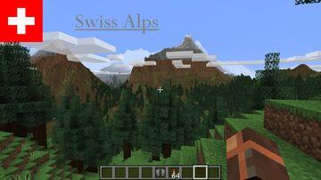 Swiss Alps Minecraft Map & Project