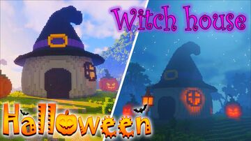 witch house (Halloween) Minecraft Map & Project