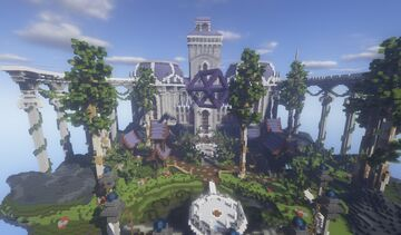 Zenith Floating Island Spawn Minecraft Map & Project