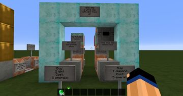Inventory Detector for Multiple Items Minecraft Map & Project