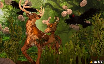 Guardian Of The Deer | XLinter Organic Project Minecraft Map & Project