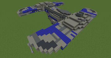 Droid landing craft (CloneWars version)   | Minecraft 1.12.2 Minecraft Map & Project
