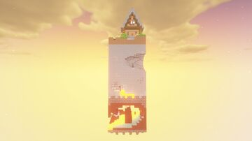 The Journey - 1 Chunk Challenge Entry Minecraft Map & Project