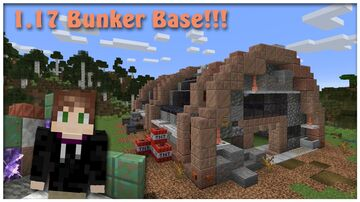1.17 Above Ground Bunker Base!!! Minecraft Map & Project