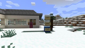 A Command Block House Minecraft Map & Project
