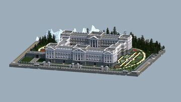 Imperial Palace (adaptation of Buckingham Palace) Minecraft Map & Project