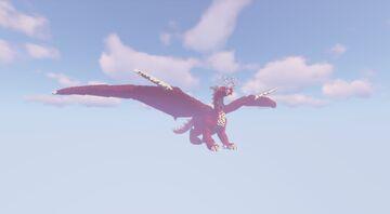 [Build] I'm a Dragon !! Minecraft Map & Project
