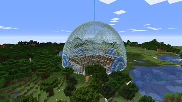 Big dome/ storage Building Minecraft Map & Project