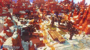 Wild West Spawn Minecraft Map & Project
