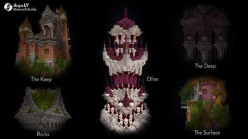 The Overworld Realms; Α Minecraft Project Minecraft Map & Project