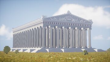 Greek Temple v2 ¡Massive Structure! Minecraft Map & Project