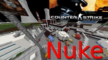 CS:GO NUKE BY LIQUID (REMAKE BY WolfySteve) Minecraft Map & Project