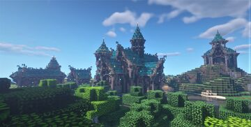 Medieval Buildings Minecraft Map & Project