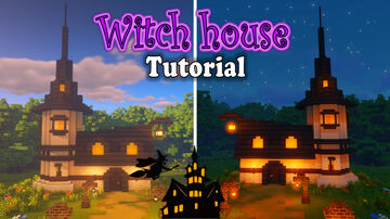 build witch house in minecraft Minecraft Map & Project
