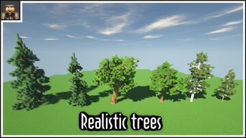 Tutorial - How to make realistic trees in minecraft Minecraft Map & Project