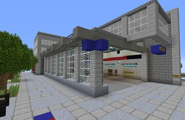 Capitol Hill Light Rail Station | Seattle, WA Minecraft Map & Project