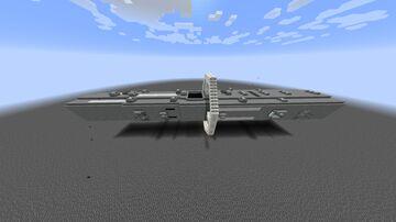 Paris-class Artillery Cruiser Minecraft Map & Project