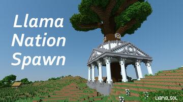 LlamaNation Spawn Minecraft Map & Project