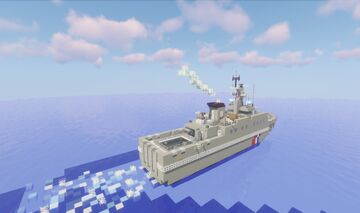 Le Flamant - OPV 54 class patrol vessel - French Navy (1.1 scale) Minecraft Map & Project