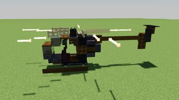 MH-6 Little Bird - Light Utility Helicopter Minecraft Map & Project