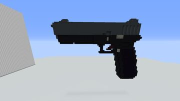Working glock-17 Minecraft Map & Project