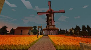 Getreidefarm / Wheat Farm Minecraft Map & Project