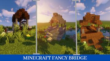 3 minecraft fancy bridge Minecraft Map & Project