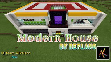 Modern House #3 Minecraft New House For Survival Lovers Minecraft Map & Project