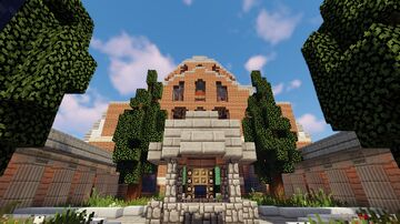 Temple of the Great Ageas Minecraft Map & Project