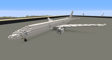 Boeing 777X 1:1 Minecraft Map & Project