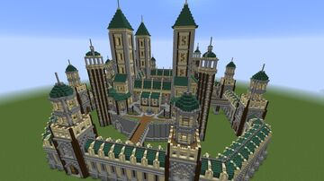 Greencastle Minecraft Map & Project