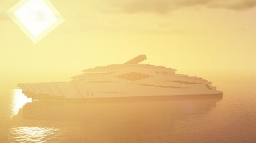 Mega Yacht [DOWNLOAD] Minecraft Map & Project