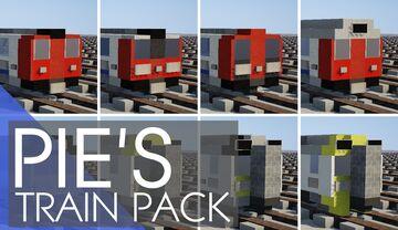 United Kingdom Train Pack Minecraft Map & Project