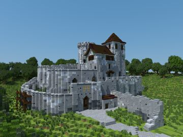 Bedzin Castle Minecraft Map & Project