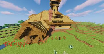 Mansion Showcase modded Minecraft Map & Project