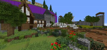 Small Castle KOTH Arena Minecraft Map & Project