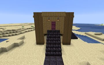stormy's Beach House Minecraft Map & Project