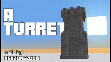 A turret Minecraft Map & Project