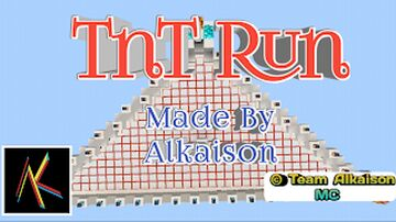 TnT Run Minecraft New Map | Adventure By Team Alkaison MC Minecraft Map & Project